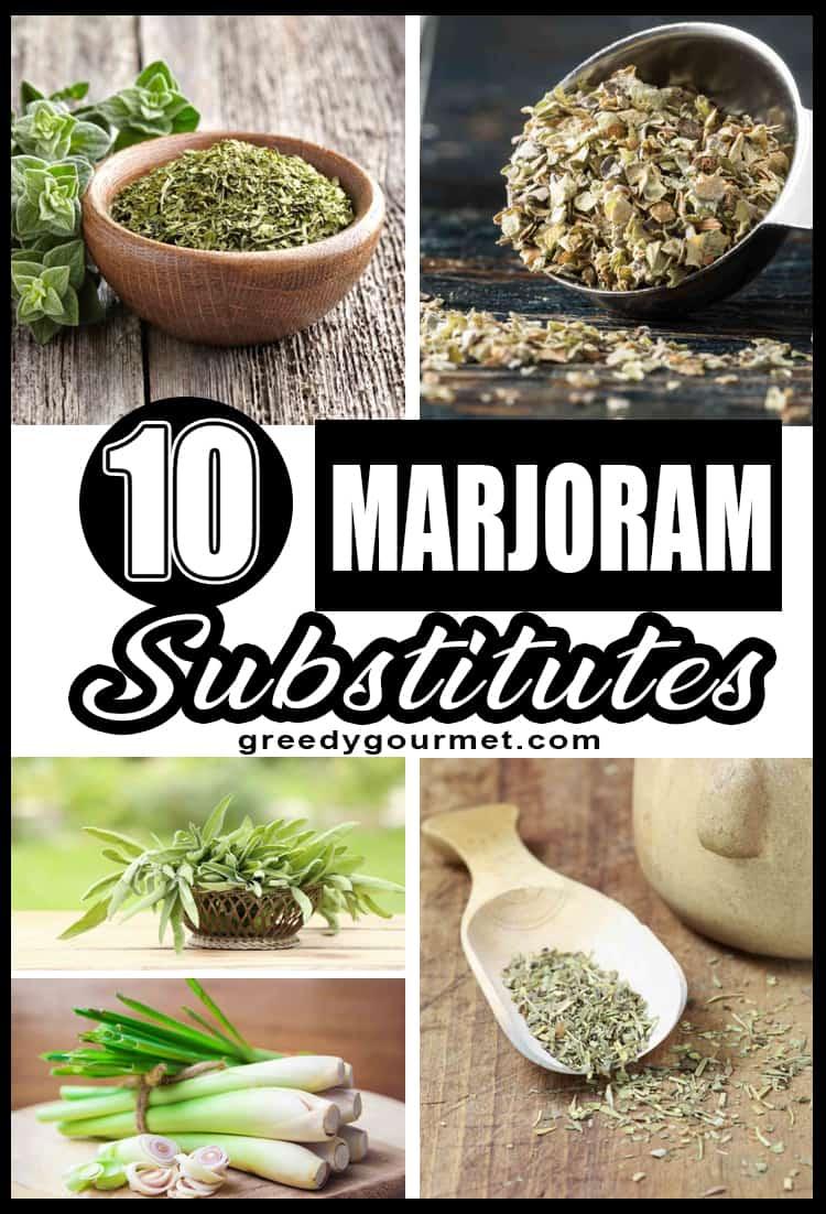 10 Marjoram Substitutes