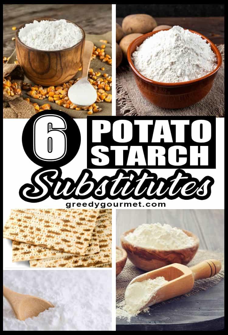6 Potato Starch Substitutes