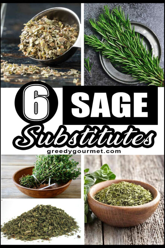 Sage Substitutes