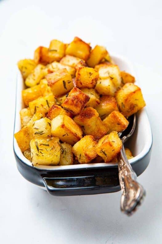 A bowl of parmentier potatoes