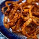 Crispy onion side dish
