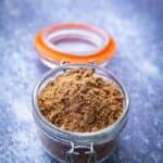 chaat masala in a jar