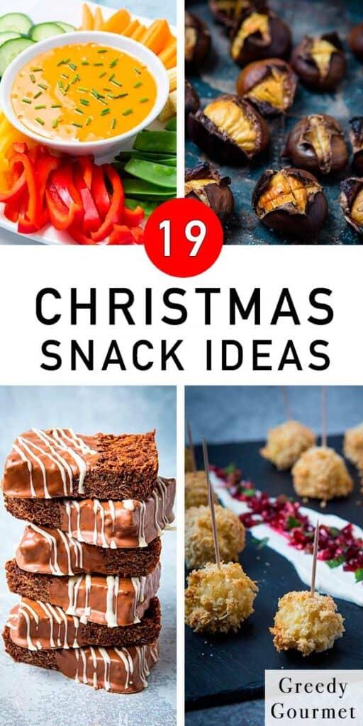 19 Christmas Snack Ideas