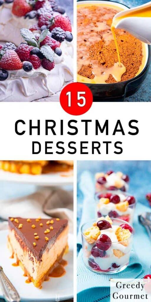 15 Christmas Desserts