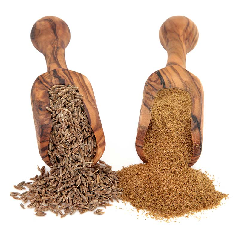 Cumin seeds vs cumin powder to be used as a cumin substitute