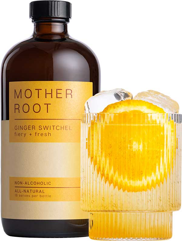Bottle of yellow MotherRoot